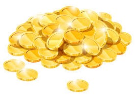 thumbnail of: 1000 Coins and 10 Bags